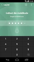 Screenshot of Nordjyske Mobilbank