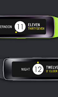 Yellow Dot Clock Screenshot
