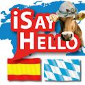 iSayHello Spanish - Bavarian icon