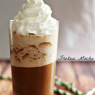 Homemade Frozen Mocha