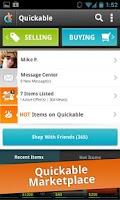 Screenshot of Quickable Marketplace