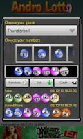 Screenshot of Andro Lotto UK