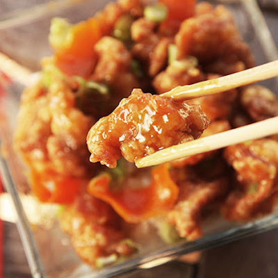 The Best Chinese Orange Chicken