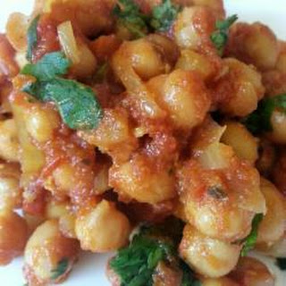 Spicy Chickpea Masala