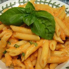 Pasta With Vodka Cream Sauce (Light)