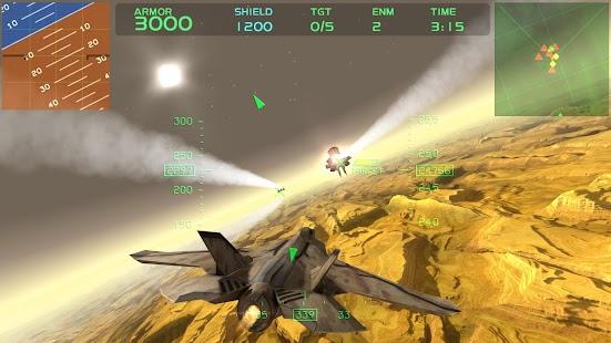 Fractal Combat X Capture d'écran