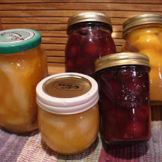 Canned Peaches Amaretto