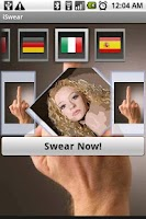 Screenshot of iSwear Robotic Insults