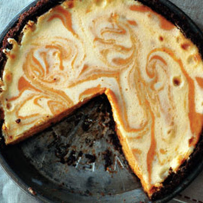 Pumpkin Ginger Cheesecake Pie