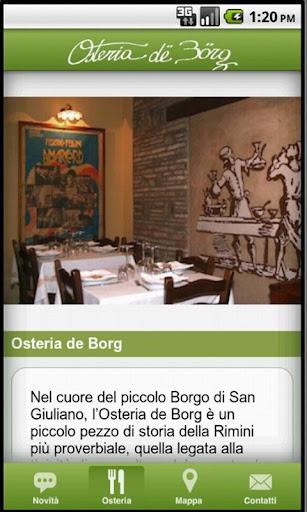 Osteria De Borg