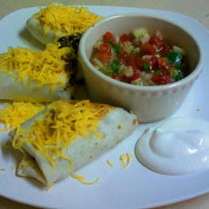Southwestern Chicken and Black Bean Burritos