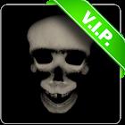 Zombie skull live wallpaper icon