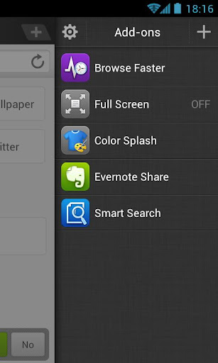 browse-faster-for-dolphin for android screenshot
