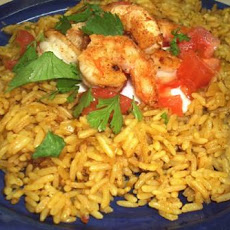 Curry Chicken and Tomato Pilaf