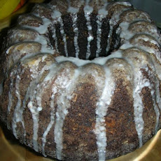 Healthy  German Chocolate Bundt Cake