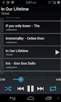 Screenshot of Simple Music Player