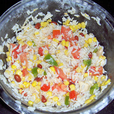 Summer Rice Salad With Tomatoes and Green Beans
