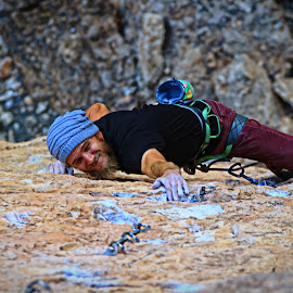 Violent Acts of Kindness by Ryan Skeers - Sports & Fitness Climbing ( limestone, beards, climbing, the wash, kicking ass )