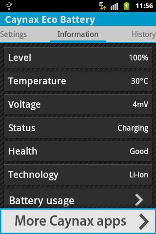 eco-battery for android screenshot