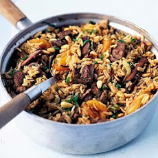 Turkish Lamb Pilau