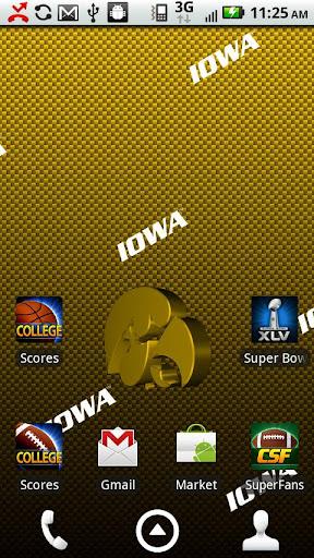 Iowa Hawkeyes Live Wallpaper