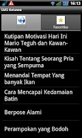 Screenshot of SMS Ketawa