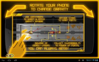 Screenshot of GRAVITY SPHERE 3D