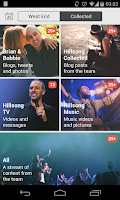 Screenshot of Hillsong