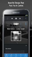Screenshot of SiriusXM