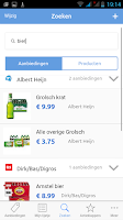 Screenshot of Aanbieding