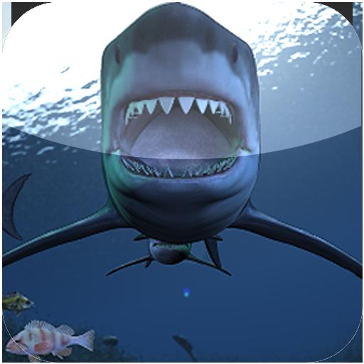 鯊魚襲擊壁紙 LOGO-APP點子