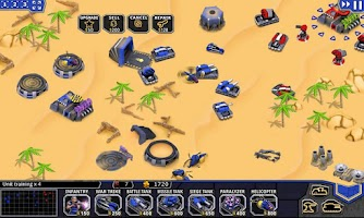 Screenshot of Defense Command