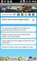 Screenshot of CDL Commercial Driver TestPrep