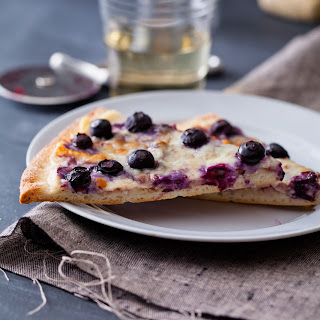 Blueberry Cream Cheese Dessert Pizza Recipes