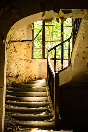 Abandoned Landmark by Andreea Alexe - Buildings & Architecture Decaying & Abandoned ( old, building, left in ruin, sanatorium, historic,  )