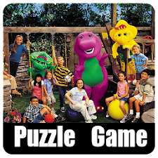 BARNEY AND FRIENDS PUZZLE