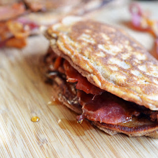 Bacon Pancake Sandwiches