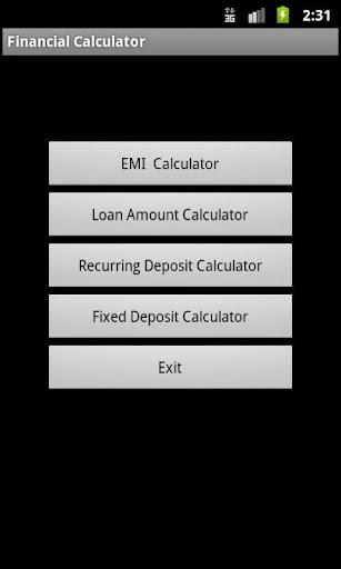 Quick Financial Calculator