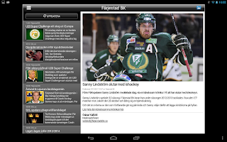 Screenshot of Färjestad BK