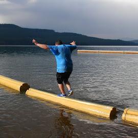 Goof guy by Liz Hahn - Sports & Fitness Watersports