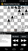 Screenshot of Magnus Carlsen Fan App
