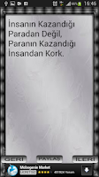 Screenshot of NECİP FAZIL SÖZLERİ
