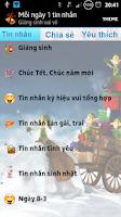 Screenshot of SMS vui - Mỗi ngày 1 tin nhắn