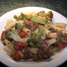 Ziti With Sausage and Broccoli