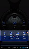 Screenshot of Next Launcher Theme glas blue