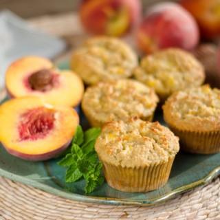 Fresh Peach Muffins Recipes