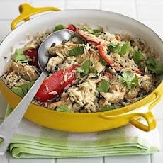 Oven-baked Thai chicken rice