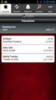 Screenshot of FirstBank Mobile App