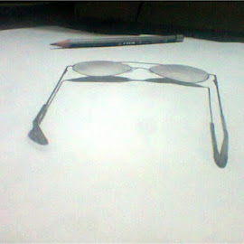3D Glass by Almas Tushar - Drawing All Drawing ( mehedi, niaz, nayeem, toha, rafat )