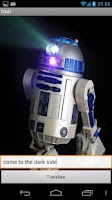 Screenshot of Star Wars R2D2 translator